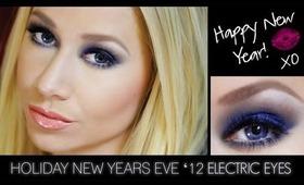 Vibrant Eye-lectric Blue Look