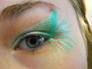 Look inspired by Mountain Dew Distortion.