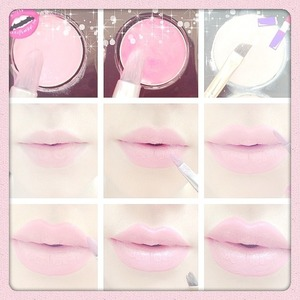 As promised my pictutorial, I know there's easier ways but I don't have any lip liners so I use my lip brush & BH lip gloss palette & concealer palette. 💋 first make sure your lips are all clean and soft! Fill your lips in using a lighter color lip gloss, then depending on how full you want your lips you can either use the same color to outline your lips as shown in the third picture or use a darker color to give it a more dramatic & more definition as shown in the 4th bottom left picture! After you outlined them, I like to make them look more sharp by using concealer to outline the outline, to give it a more crisp look! Lol ☺ I suck at explaining things but that's all I did to make my lips look fuller, it's weird getting use to but I looooove it 💁💗