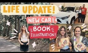 Life Update: Illustrated my first book! New Car! Gym Life!