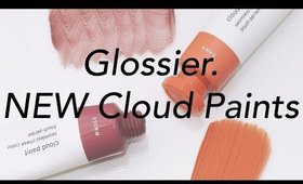 Glossier Cloud Paints in Dawn & Storm First Impression & Swatches   Olivia Frescura