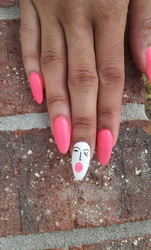 matte pink bubblegum gal