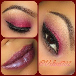 Eyeshadow : BH cosmetics 120 5th edition palette, BH cosmetics essentials palette. Eyeliner: NYC liquid liner. Lips: pssh!! Its a secret.  Eyebrowa : wet n wild eyebrow kit.
