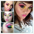 tropical color eyeshadow