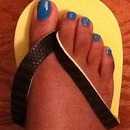 Turquoise Toes!!!