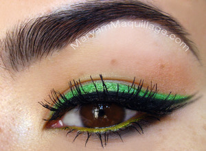 subtle for St. Patty's. All info on my blog: http://www.maryammaquillage.com/2012/03/kiss-me-im-lucky.html