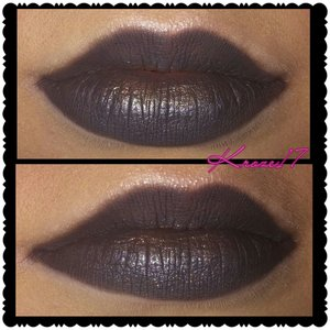 Closer look at the lips. I used:  Urban Decay 24/7 eye liner in Smoke to fill in the full lips. Tapped the Gold shade from the Lorac Pro Palette on the bottom center on lip. Used NYX Wonder Pencil in light to out line the lips and lastly I used the highlight shade in the Tarte Rain Forest After Dark Palette as a Cupids Bow highlight.  #urbandecaycosmetics #lorac #tarte #nyxcosmetics #graylips #gold #lips #lipart #fall #fashion #makeuptrends #makeup #makeuplook #Beautyshot #beautyproducts #beauty #instamakeup #instabeauty #kroze17