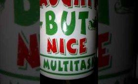 Naughty But Nice, I Multitask - Merry Christmas mug