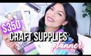 $350 Cricut Crafts + Planner Supplies Haul! Joanns & Hobby Lobby | SCCASTANEDA