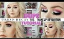 Makeup Revolution VS Urban Decay Electric Palette | DUPE TUTORIAL