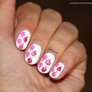 Drew Barrymor Inspired Nail Design