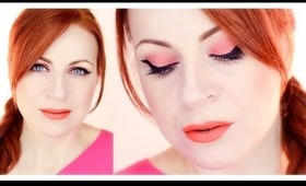 Modern Bright Pin-up Makeup Tutorial
