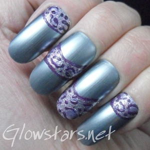 For more nail art and pics of this mani visit http://Glowstars.net