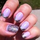 Lavender Glam Nail Art