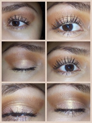 I used two eyeshadows here...first UDPP....melon pigment...and bare minerals scarlet Casey...bobbi brown intensifying long wear mascara