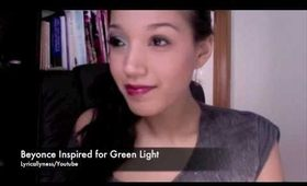 Beyonce- Green Light Make up Tutorial