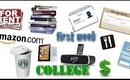 First Week of College - Books, Classes, Mealplan, etc. - College Tips