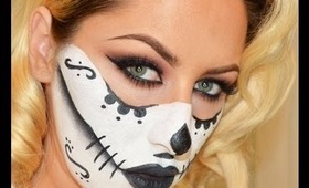Halloween Look: Sugar Skull Makeup Tutorial