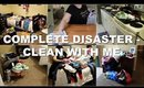 EXTREMELY DIRTY HOUSE | EXTREME CLEANING MOTIVATION | CLEAN WITH ME | COMPLETE DISASTER