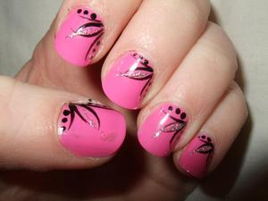 This was the first ever nail design that I did when I first started ten years ago!