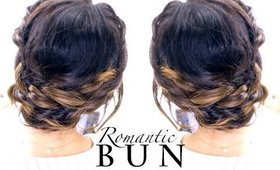 ★ Romantic SPRING BRAID Bun Hairstyle | Updo Hairstyles