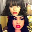 Rihanna Inspired Makeup Tutorial Using MAC RiRi Woo!