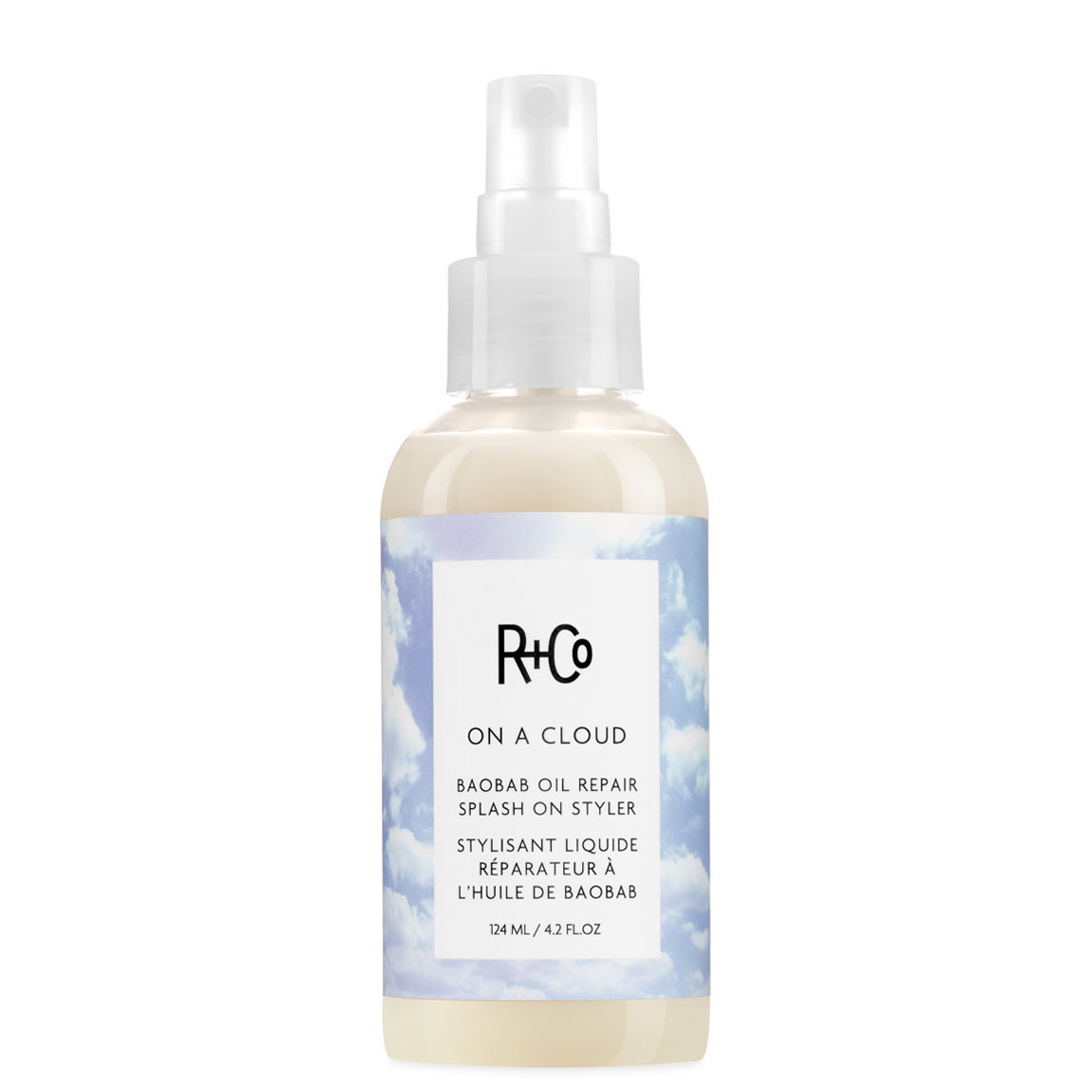 R+Co On A Cloud Baobob Oil Repair Splash-On Styler alternative view 1 - product swatch.