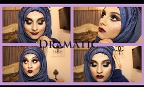 Burgundy Dramatic Smokey Eye feat. Anastasia Amrezy Palette & Sad Girl