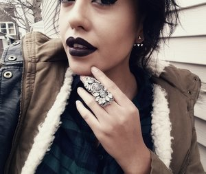 black lips look just as good as any color