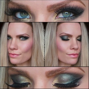 be5c5b2ff5f A soft green smokey look created with UD Vice 2 palette. You can find the