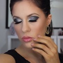 Glam clubbing look