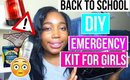 DIY EMERGENCY KIT FOR GIRLS  FOR BACK TO SCHOOL + [OPEN] GIVEAWAY | JESSICA CHANELL
