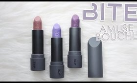 Review & Swatches: BITE Amuse Bouche Lipsticks, Sweet & Savory Collection | Dupes!