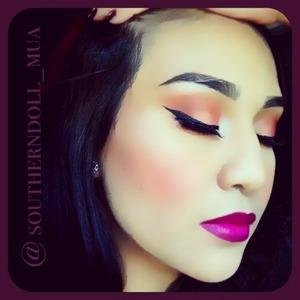 Milani color statement lipstick Uptown mauve