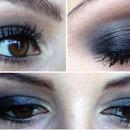 Black smoky eyes