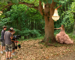 "Behind the Scenes at Taylor Swift's ""Wonderstruck"" Commercial"