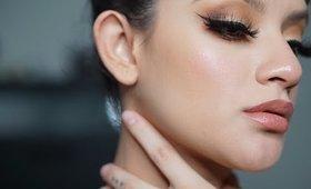 grwm bronzy makeup look