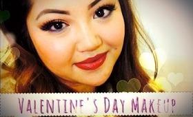 ♡ Valentine's Day Makeup 2014 | dawnelise