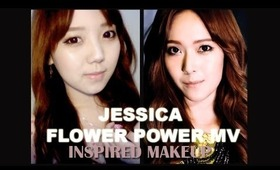 HowtoMakeUp | Jessica SNSD | Flower Power MV Inspired Makeup