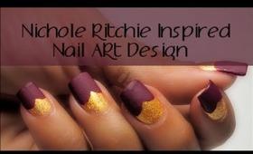 Nichole Richie Inspired Nail Art Design