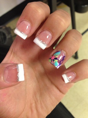 These are my prom nails! I love them! <3