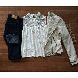 Jeans: H&M Top: Forever 21 Jacket: Aeropostale