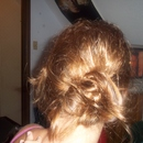 Summer Updo Back View