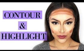 How To Highlight and Contour Your Face For Beginners - TrinaDuhra