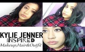 Kylie Jenner Inspired Makeup, Hair + Outfit | Carla Katrina