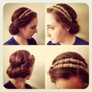 Headband Hair Twist