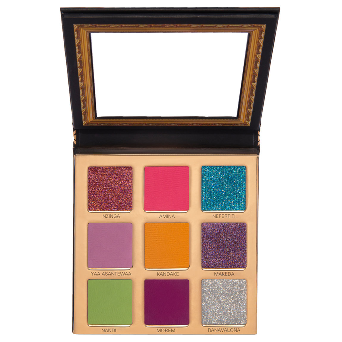 UOMA Beauty Coming 2 America Collection: Black Magic Mini Palette Queen To Be alternative view 1 - product swatch.
