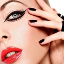 Elegant party makeup.. :-* :-*