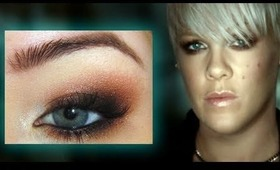 P!nk F**kin' Perfect Music Video Make-up Tutorial HD