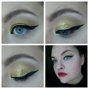 My take on the look from her video.